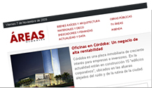 Newsletter Áreas