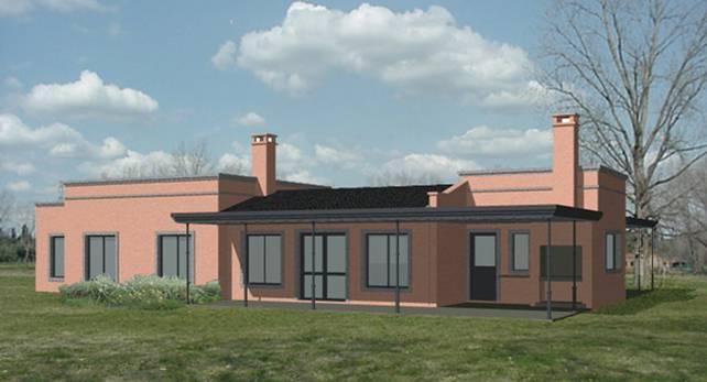 Reas bienes ra ces construcci n materiales deco for Casa estilo campo moderno