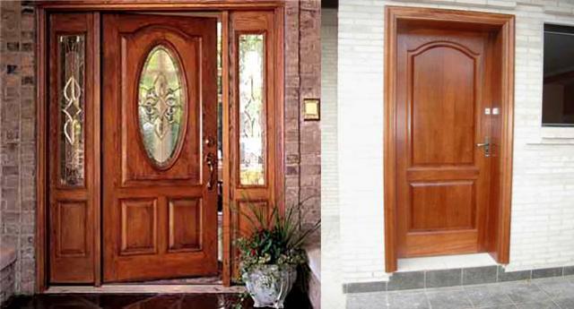 Puertas de madera con dise o imagui for Disenos d puertas d madera